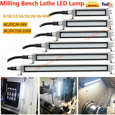 6-40w Lathe Lamp Light Benchtop Milling Led Lighting Cnc Machine Center Working
