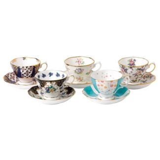 Royal Albert 100 Years Teaware 10 Piece Set Cup, Saucer******1940