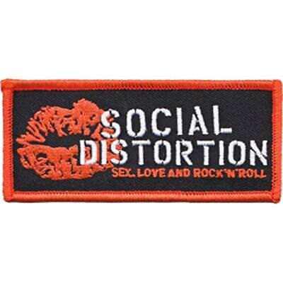 Social Distortion Lip Logo New Sew/Iron on Patch rock punk music band coat jack