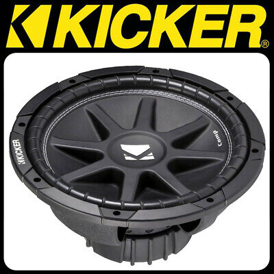KICKER Comp Serie C124 4 Ohm 30cm Subwoofer 150 W. RMS Bass Woofer Chassis 4 Ohm Comp-serie