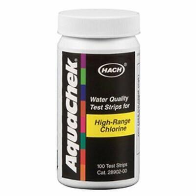 Aquachek Chlorine HR: Analizador Cloro libre alto rango 0-600 mg/l