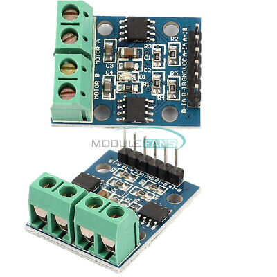 2pcs H-bridge Stepper Dual Dc Motor Driver Controller Board Hg7881 For Arduino
