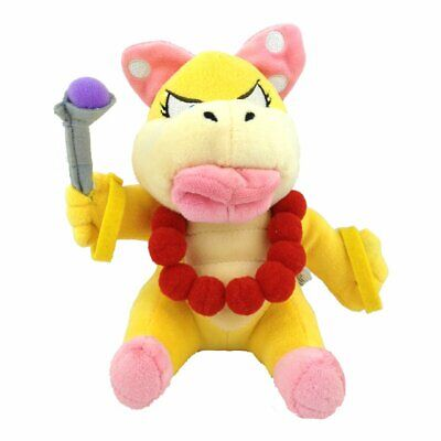 Super Mario Bros 7'' Wendy O. Koopa Plush Doll Stuffed Toy - Best Gift For