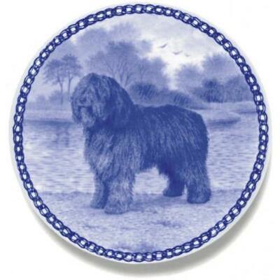 Spanish Water Dog - Dog Plate made in Denmark from the finest European Porcelain