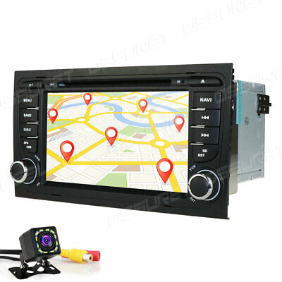 For Audi A4 S4 B6 B7 RS4 Android 10.0 Car Stereo Radio GPS DVD USB/SD WIFI 4G BT
