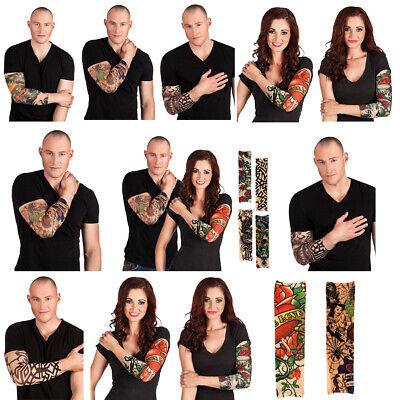 Nylon Tattoo Ärmel Tattoo Viele Motiven Tattoo Strümpfe Fasching Kostüm - Kostüm Tattoo Ärmel