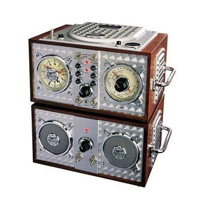 Spirit Of St. Louis Wooden Alarm Clock CD Radio - Model: 841673