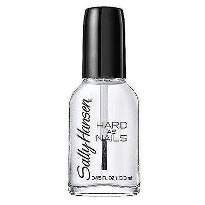 Sally Hansen Hard as Nails Nail Polish, Crystal Clear 0.45 o