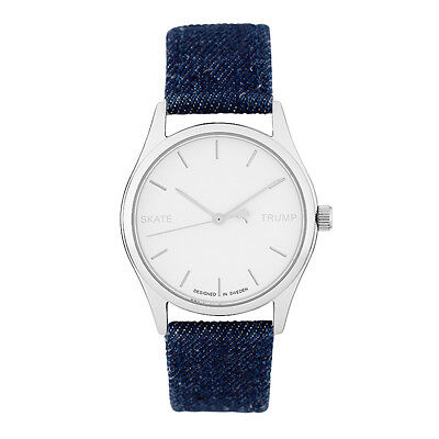 Denim-armband (Cheapo Neu Denim Armbanduhr Blau Gut Vs Böse Neu Ovp)