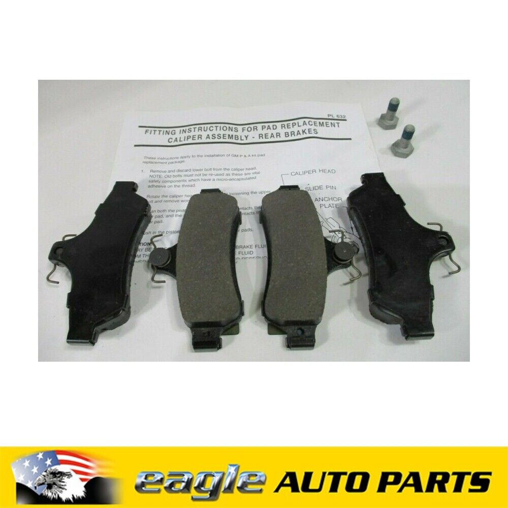 DB1332GP Brake Pads VZ 5.0 VT VX VY for HOLDEN COMMODORE 3.8 Rear