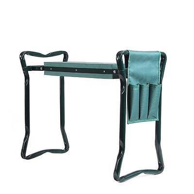 Ohuhu Folding Garden Kneeler Gardener Kneeling Pad & Cushion Seat Sturdy - Green