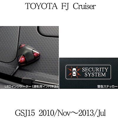 New TOYOTA GENUINE FJ CRUISER GSJ15 2010-2013 Auto Alarm Base kit Car security