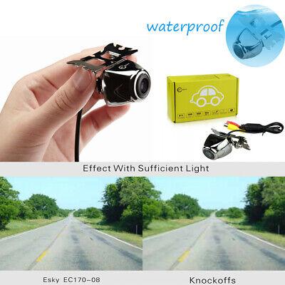 EC170-08 170° Waterproof Color HD CCD Car Rear View Reverse Backup - Ccd Color Waterproof Camera