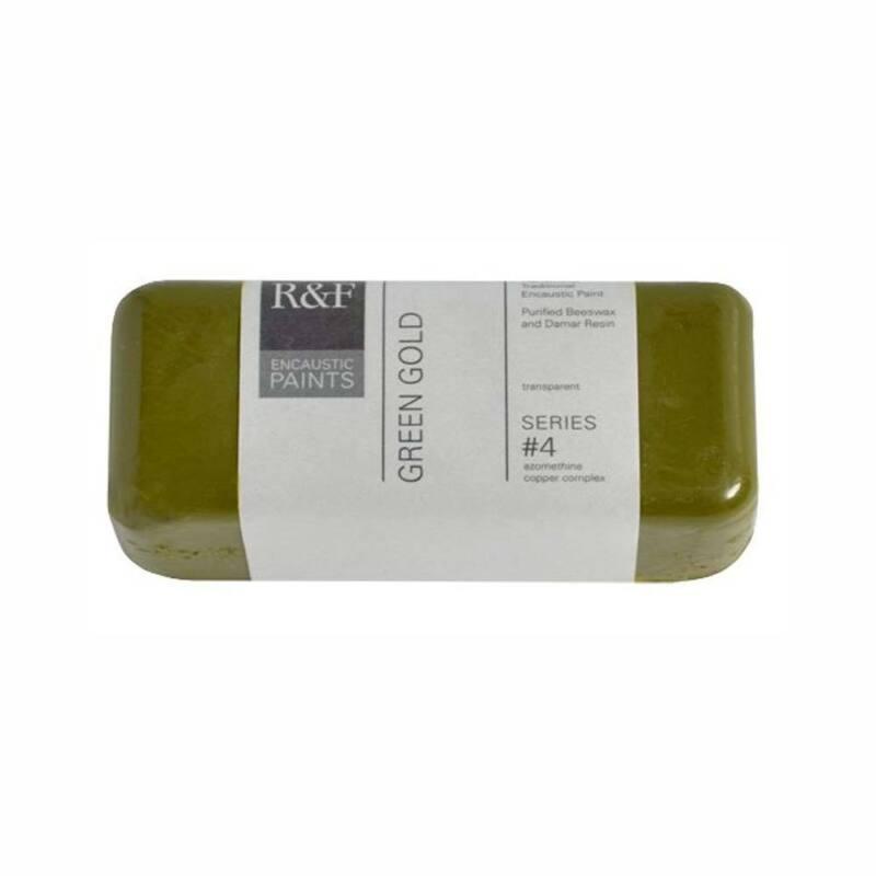 R&F Encaustic 104Ml Green Gold