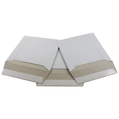 15 - 6x6 Ecoswift Brand Self Seal Cardboard Cddvd Envelope Mailers 6 X 6