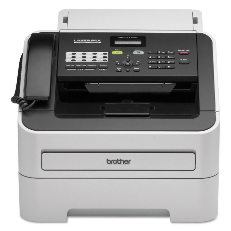 Brother Intellifax-2840 Laser Fax Machine, Copy/fax/print FAX2840 NEW