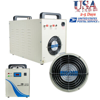 Usa Industrial Water Chiller Cw-3000 For Cnc Laser Engraving Machine Safe Use