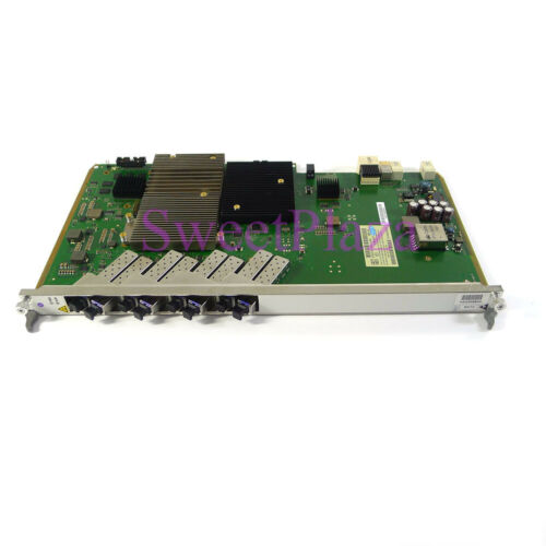 Alcatel-lucent Fpba-nglt-c 8 Ports Gpon Board For 7360 Etc Olt With 8 Sfp Moduls