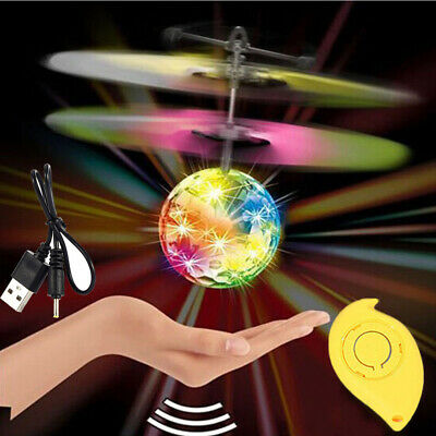 Toys For Girls 10 Years Old (Toys for Girls 3 4 5 6 7 8 9 10 Year Old Flying Ball LED Flashing Light Up)