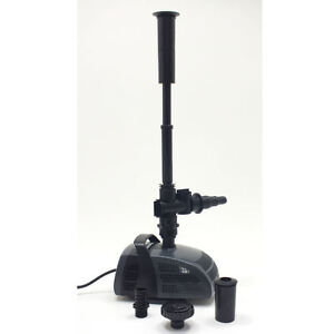 Jebao fish pond fountain water feature pump submesrible ebay for Fish pond pumps for sale