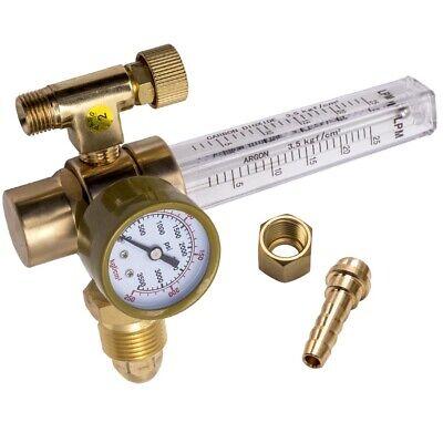 Argonco2 Regulator-welding Gas Flowmeter For Tig Mig Welder Tanks Cga580