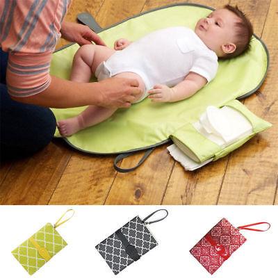 NEW Baby Kids Foldable Folding Diaper Changing Pad Waterproof Mat Travel Storage