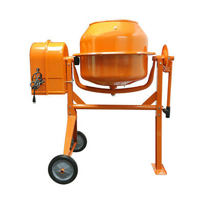 Hd Portable Electric 3-12 Cubic Feet Steel Concrete Cement Mixer Contractor