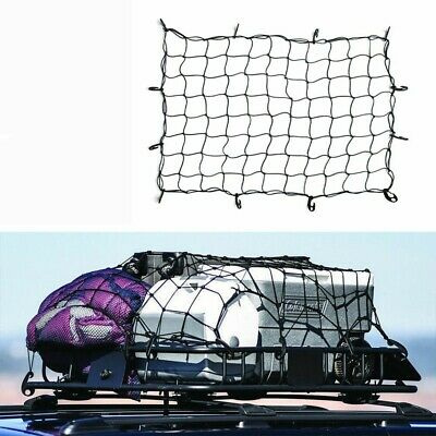 Elastic Cargo Net 14 Hooks Travel Secure Car Motorcycle Camping Mesh 32
