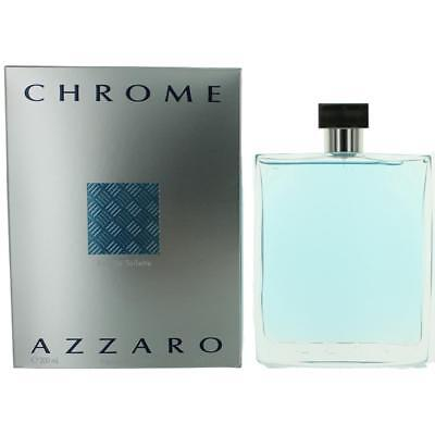 Chrome Cologne By Azzaro  6 8 Oz Edt Spray For Men New
