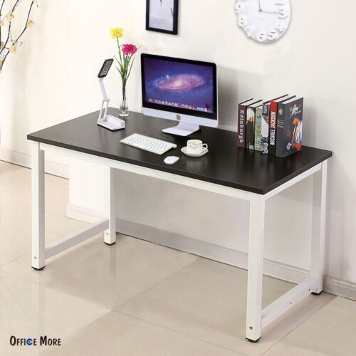office desks for home use. wood black computer desk pc laptop table workstation study home office furniture