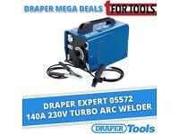 DRAPER 05572 EXPERT 140A 230V TURBO ARC WELDER
