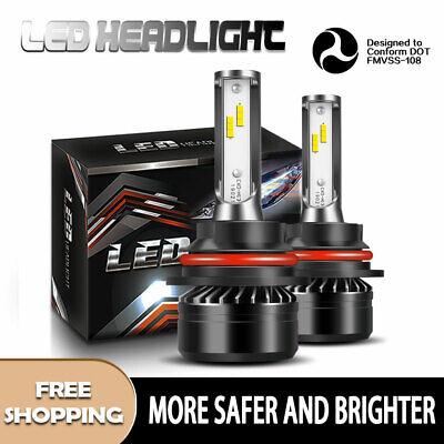 LED Headlight Kit 9004 HB1 6000K 60W Hi/Low Bulbs for TOYOTA Tercel 1995-96 DTA