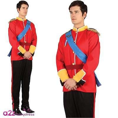 Handsome Prince Charming König Royalty Adult Fancy Dress Kostüm Karneval