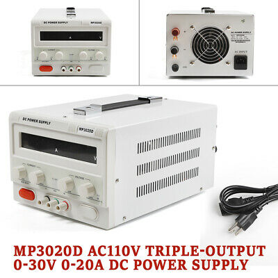Power Supply Variable 0-30v 0-20a Linear Dc Lab Power Supply Regulated Variable