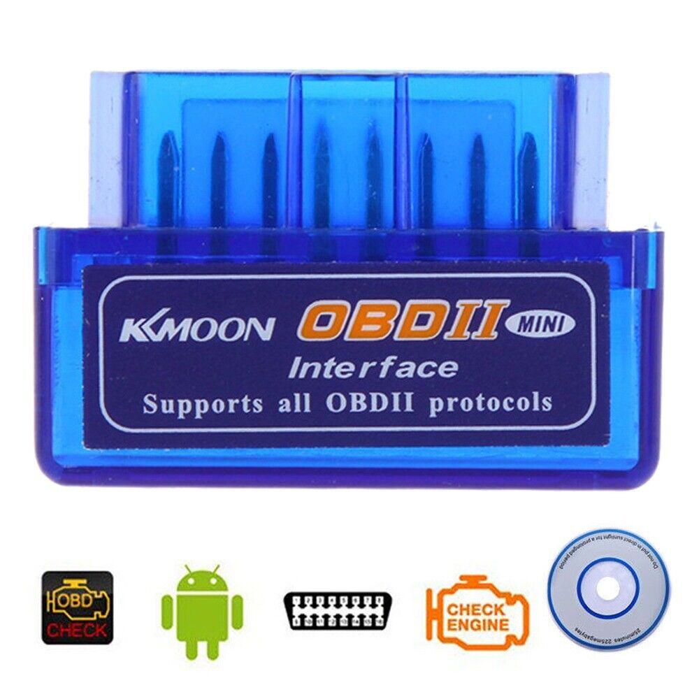 ELM327 V2.1 OBD2 II Mini Bluetooth Diagnostic Interface Scanner for Car Auto