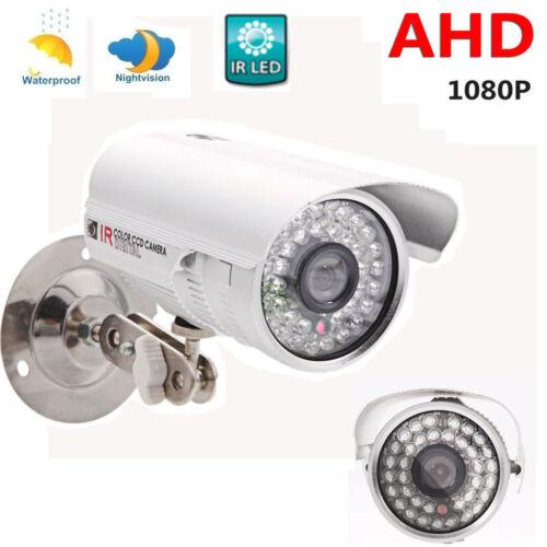 CCTV 1080P AHD Camera 2.0MP HD Analog 36IR Night Vision Outdoor Security System