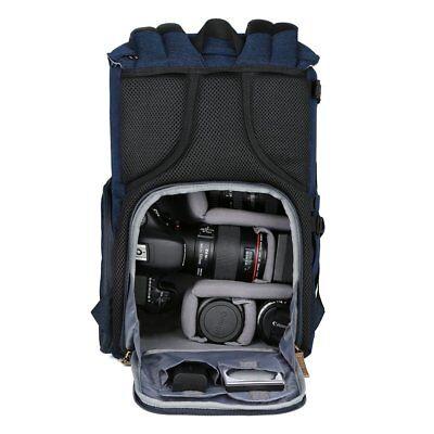 K&F CONCEPT Kamerarucksack Fotorucksack mit Stativhalterung für Canon Nikon Sony
