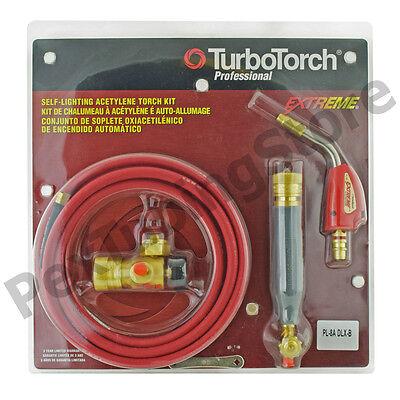 Turbotorch 0386-0835 Pl-8adlx-b Torch Swirl Kit Air Acetylene Self Lighting