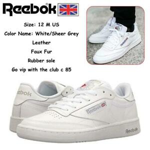 1ad65e32023e45 Reebok Classic Mens Club C 85 Sneakers Condtion  Very Lighly Used