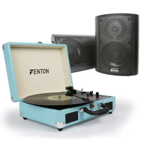 Fenton RP115 platenspeler HiFi set met speakers