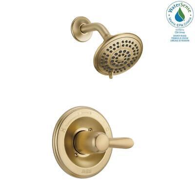Delta T14238-CZ Lahara Monitor 14 Series Shower Trim in Champagne Bronze Lahara Monitor 14 Series Shower