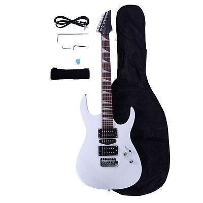 New Professional Electric Guitar +Guitar Bag + Strap + Pick +Tremolo Bar