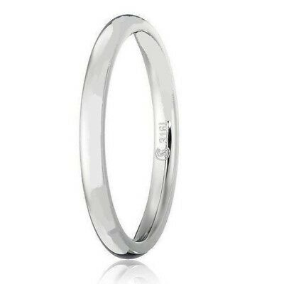 2mm Stainless Steel High Polish Comfort Fit Domed Wedding Band,Thumb/Toe Ring 2 Mm Thumb Ring