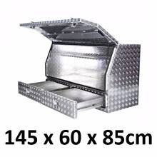 Aluminium Toolbox Side Ute Tray Tool Storage Box 1468A Drawers Prestons Liverpool Area Preview