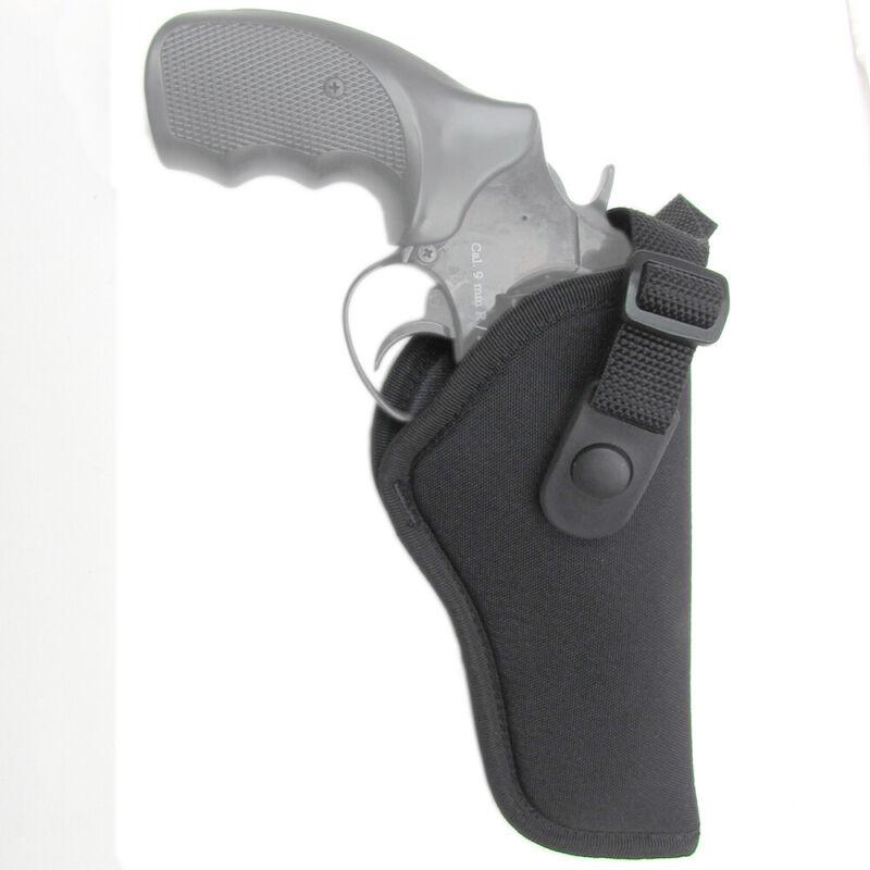 "Gunmate Hip Holster Size 28 Fits Medium-Frame Revolvers 4"" B"