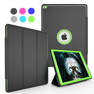 """For iPad Pro 12.9"""" 1st / 2nd Gen Shockproof Smart Stand Case + Screen Protector"""