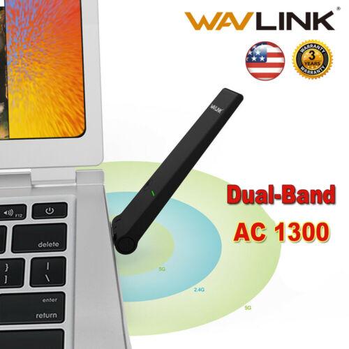 Wavlink Ultra-fast AC1300 Dual Band USB3.0 Wireless USB Adap