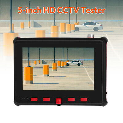 """4in1 5"""" 8MP IP CCTV Camera Tester AHD TVI CVI Analog Security Test Monitor RS485"""