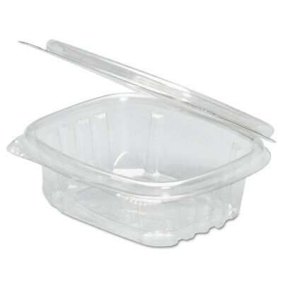 Genpak Clear Hinged Deli Container 8oz 5 38 X 4 12 X 1 12 100bag 2 Bags