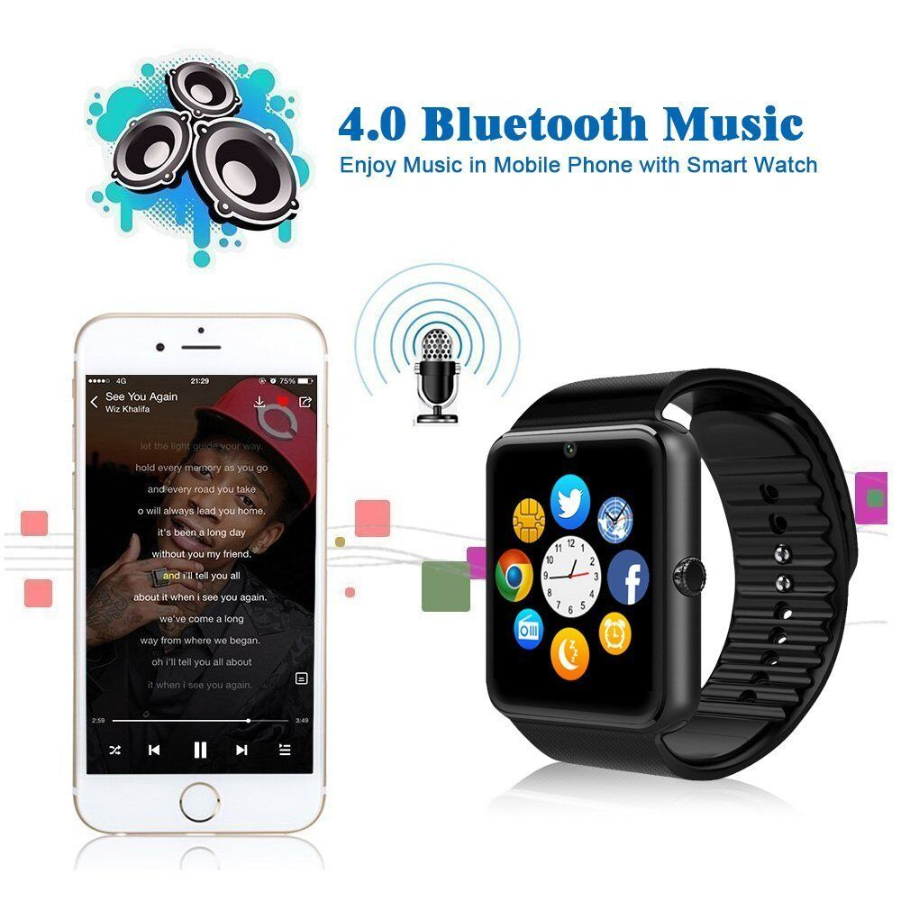 watches smart phone bluetooth product smartt android watch sport cell